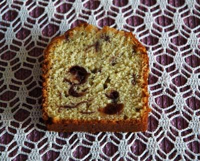 Cake pistache griottes vue 1