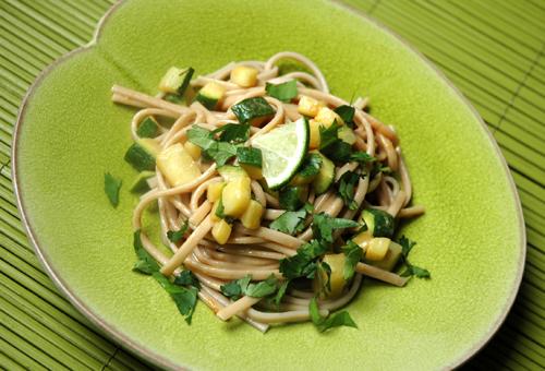 Salade udon vue 1