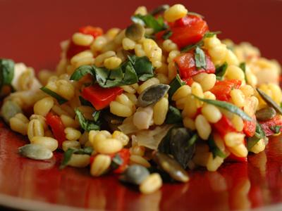 Salade ble vue 1
