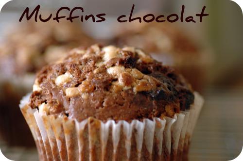 Muffins chocolat vue 1