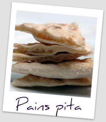 Pain pita triangle diapo