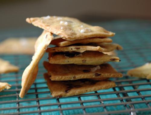 Crackers graines de lin fleur de sel vue 1
