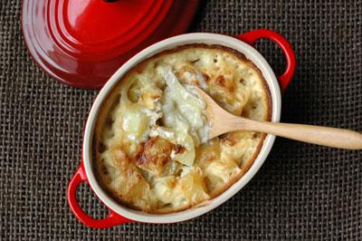 Cocotte pommes de terre oignons vue 1