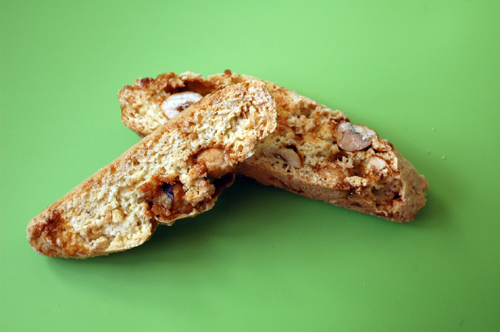 Biscotti noisettes caramélisées vue 1