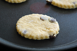 Welsh cakes cuisson vue 2