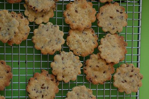 Crackers bio graines de lin deux vue 1