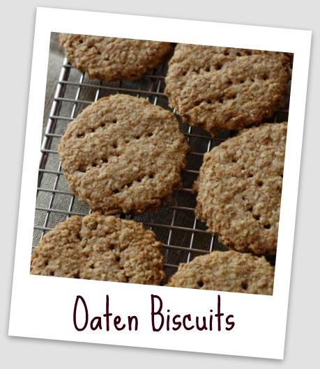 Oaten biscuits vue 1 cadre