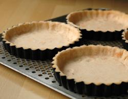 Pate tarte petits suisses avant cuisson vue 2