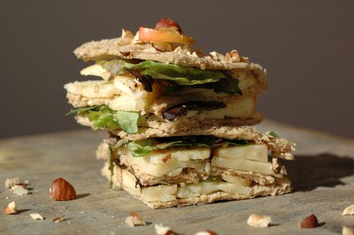 Clun sandwich cantal pomme vue 1