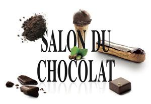 Salon du chocolat logo 2010 vue 1