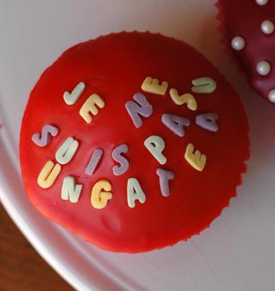 Cupcake texte vue 1