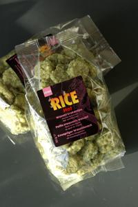 Galette riz wasabi vue 1
