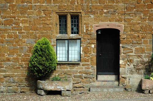 Quenby hall pierres vue 1