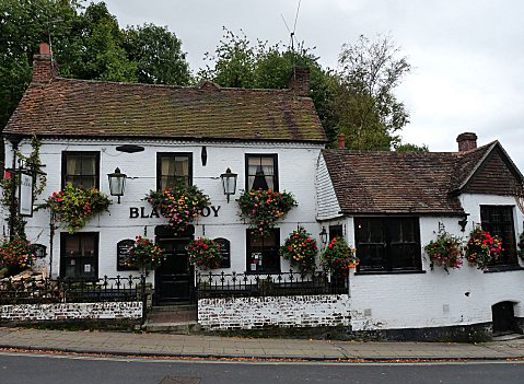 The black boy pub winchester