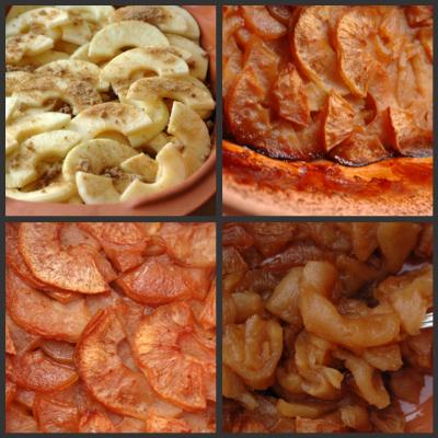 Dessert pommes romertopf vue 1