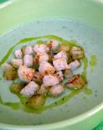 Gaspacho concombre vue 1