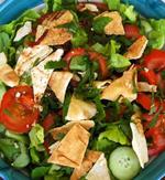 Salade fattouche vue 1