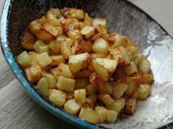 Pommes de terre sautees vue 2