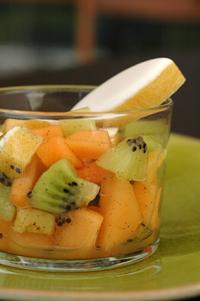Salade melon kiwi vue 2