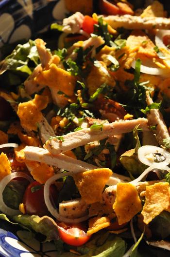 Salade poulet nigella lawson vue 1