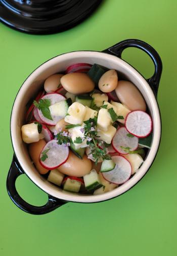 Salade reblochon deux vue 1