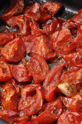 Tomates roties vue 1