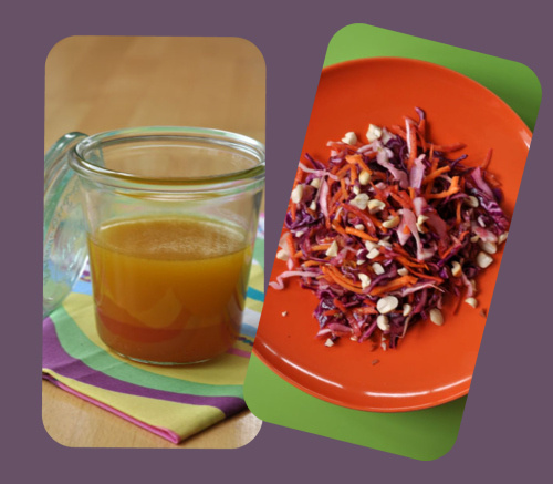 Coleslaw asiatique collage vue 1