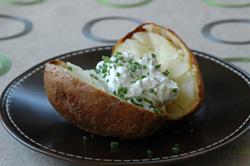 Pomme de terre au four vue 2