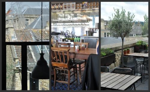 Jamie italian restaurant bath decor trio vue 1