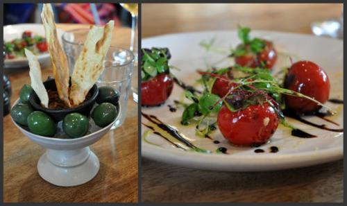 Olives puilles et piments farcis vue 1