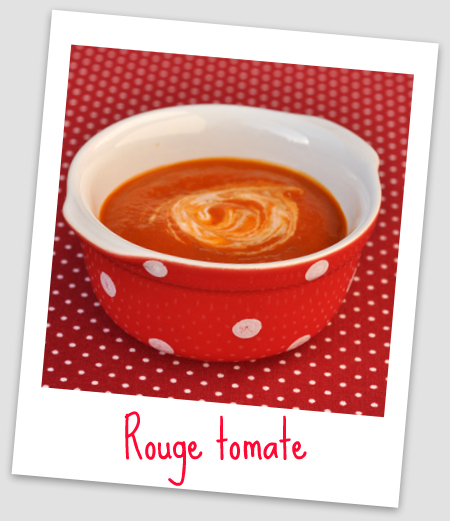 Soupe tomate montage