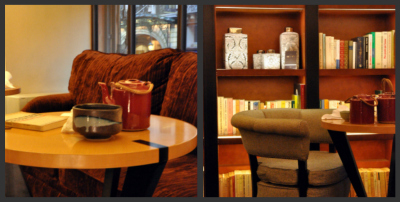 Coin cosy salon de the hotel scribe vue 1