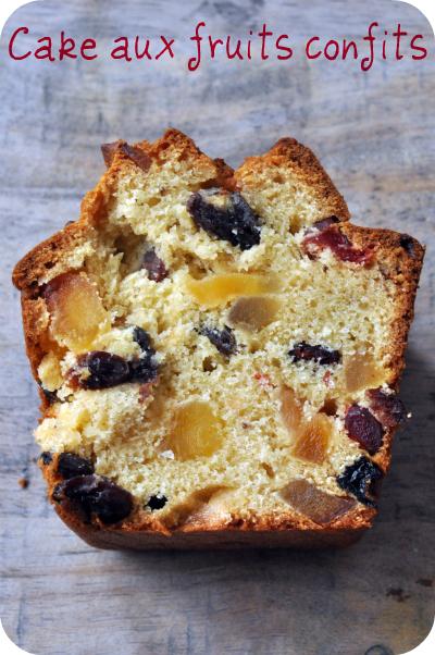 Cake aux fruits confits pierre herme tranche deux