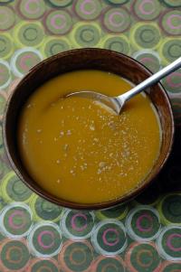 Soupe butternut et chou frise vue 1