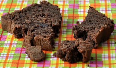 Cake chocolat tranche vue 1