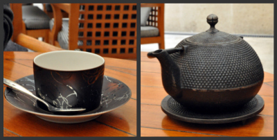 Duo tasse et theiere