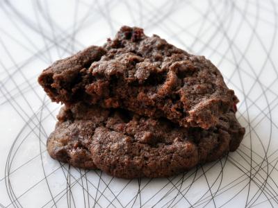 Cookies chocolat betterave trois vue 1