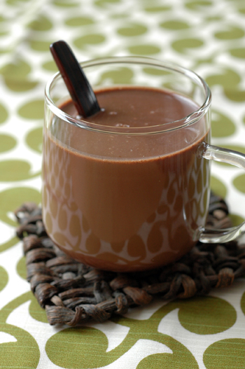 Chocolat froid vue 1