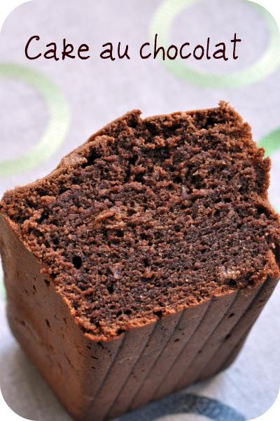 Cake chocolat mousseux vue 1