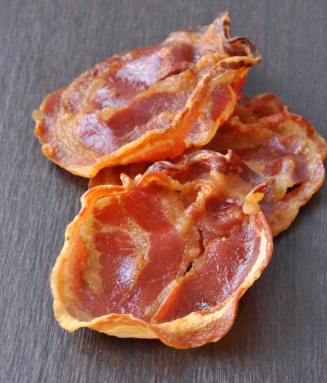 Chips de pancetta vue 1