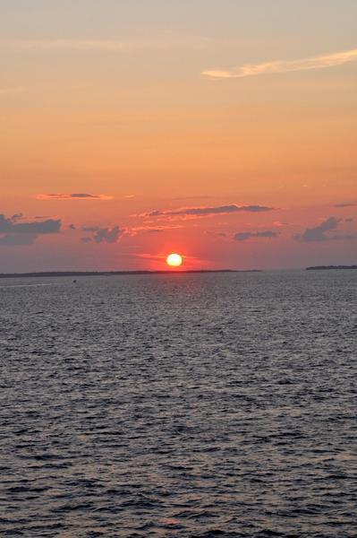 Cape cod coucher de soleil