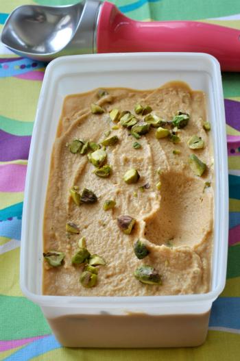 C 39 est moi qui l 39 ai fait yaourt glac l abricot et - Frigo qui fait de la glace ...