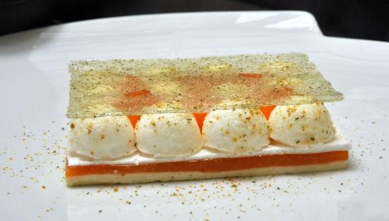 Dessert abricot yann couvreur burgundy