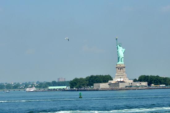 Statue liberte new york ellis island