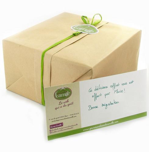 Panier cadeau et carte 7001050