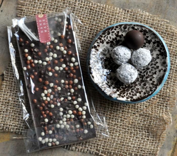 Cadeaus gourmands fait maison chocolat