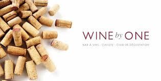 Wine card wine by one