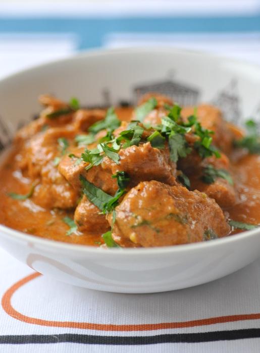 Curry agneau korma