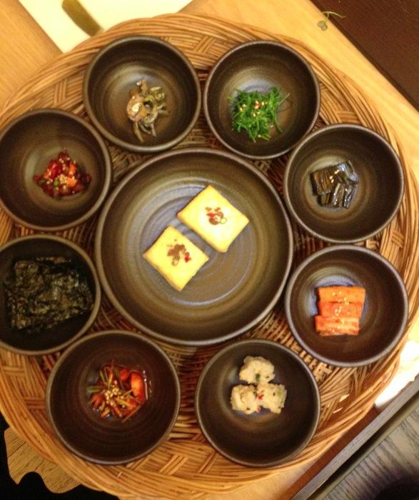 Couleurs dans la cuisine coreenne