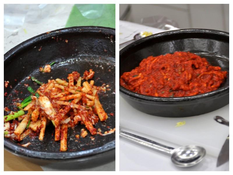 Asaisonnement kimchi